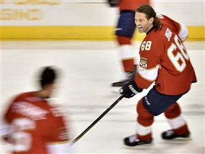 Jaromir Jagr on Oct. 15.