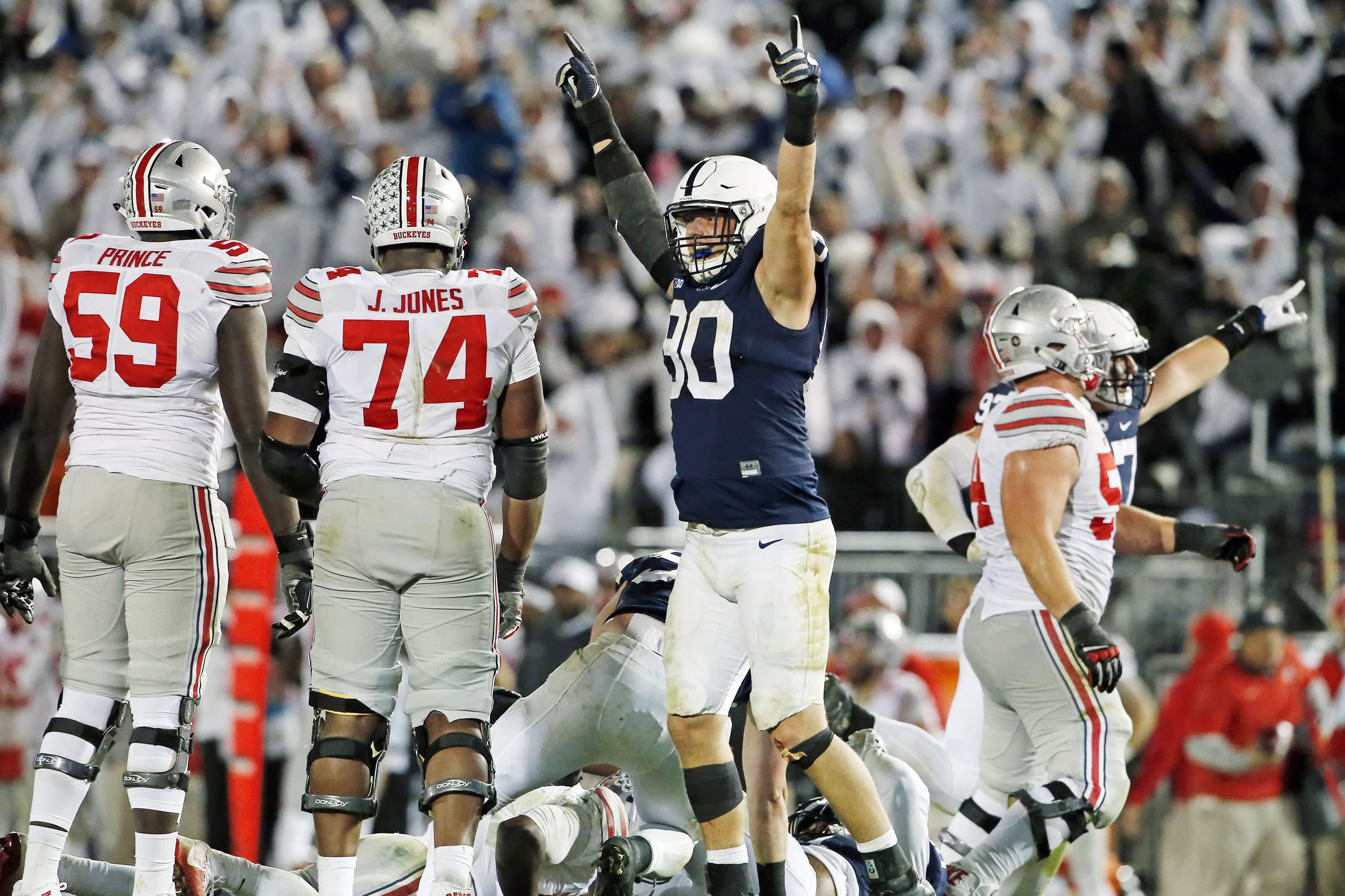 Linebackers return to lead versatile Penn State defense