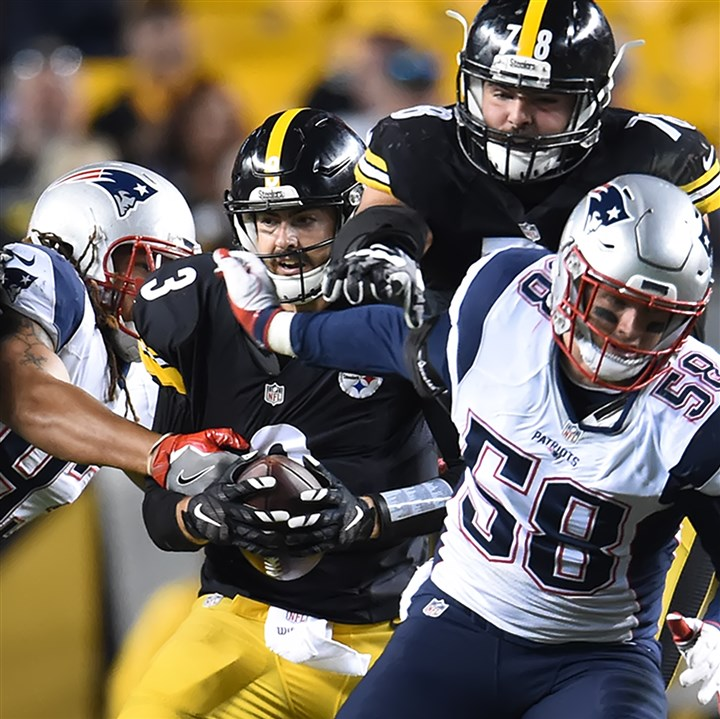 Paul Zeise: Steelers offensive line is underachieving
