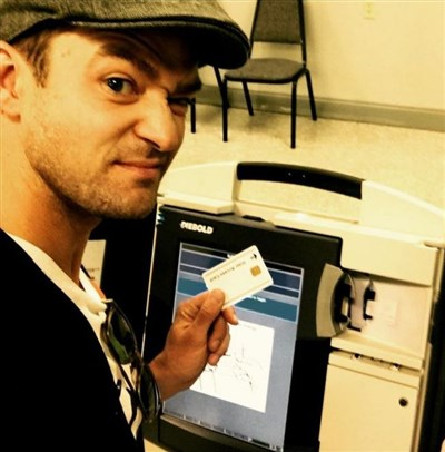 Which states allow ballot 'selfies'? Timberlake's image at voting booth highlights mixed laws