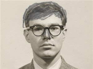 Andy Warhol (Passport Photograph) Altered, 1956, The Andy Warhol Museum, Pittsburgh,