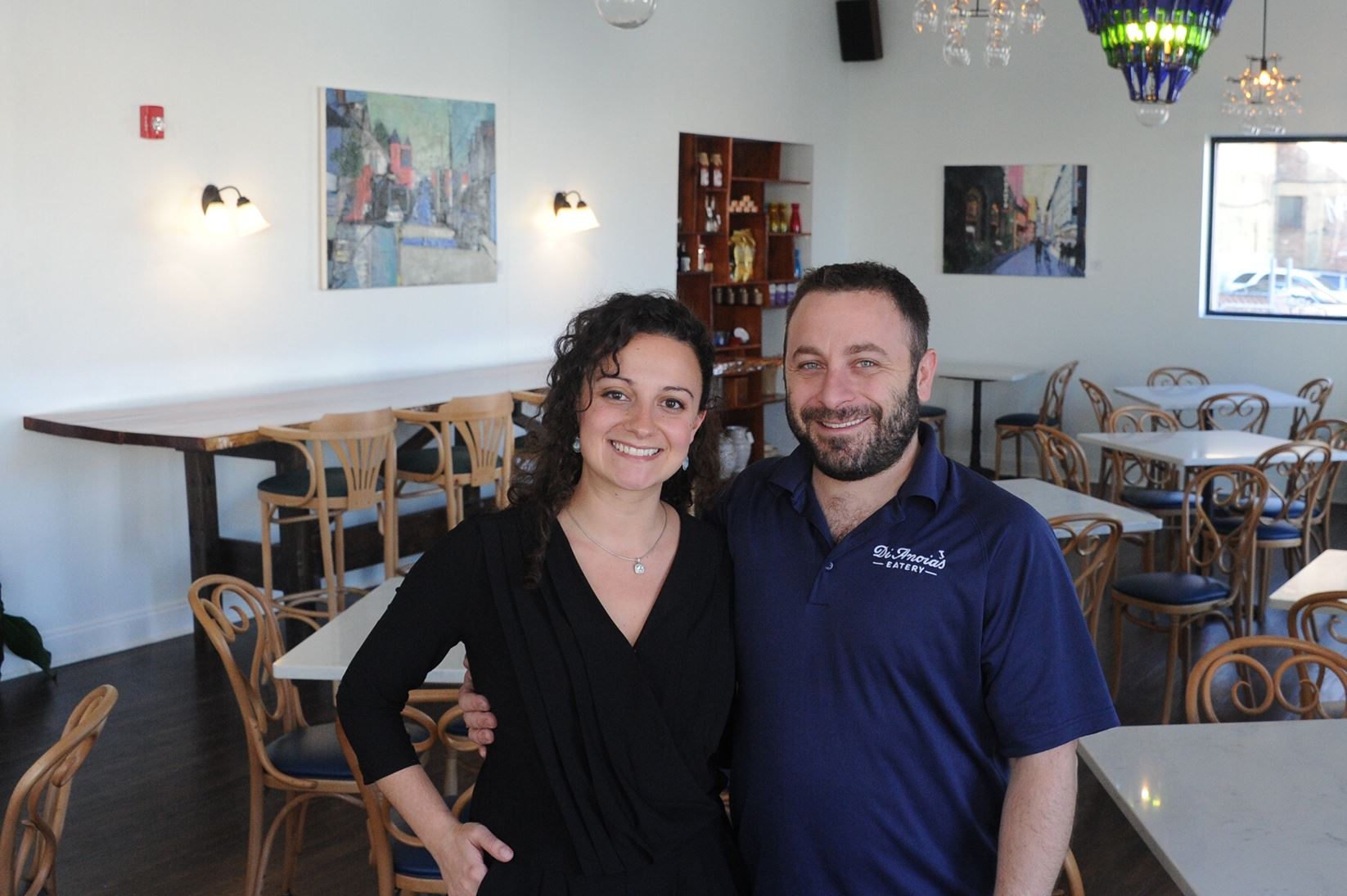 20161028lf-Eatery02-1 Dave Anoia and Aimee DiAndrea are expanding the current location to include a pizzeria by summer if all goes well.