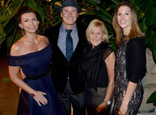 From left, Renee Piatt, Lucas Piatt, Debbie Honkus and Raelynn Honkus .