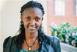 Jane Wanjiru, 25, is a graduate of Mt. Kenya University. Her early education came from Hekima Place, launched by a Pittsburgher with a mission, Kate Fletcher.