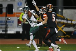 Pine-Richland receiver Raymond Falcone is hoping to catch plenty of passes next season at Lehigh.