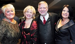 Variety's 89th Annual Anniversary Gala at Heinz Field: From left, Andrea Carelli, Laura Karet, Charlie LaVallee and Deb Rice-Johnson.
