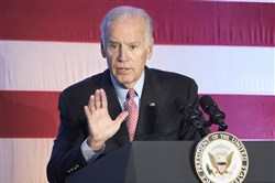 Vice President Joe Biden speaks in West Mifflin last November.