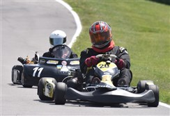 Roger Myers of Verona last month won the Grand National Championship for Go Kart sponsored by the American Kart Racing Association in Jacksonville, Fla.