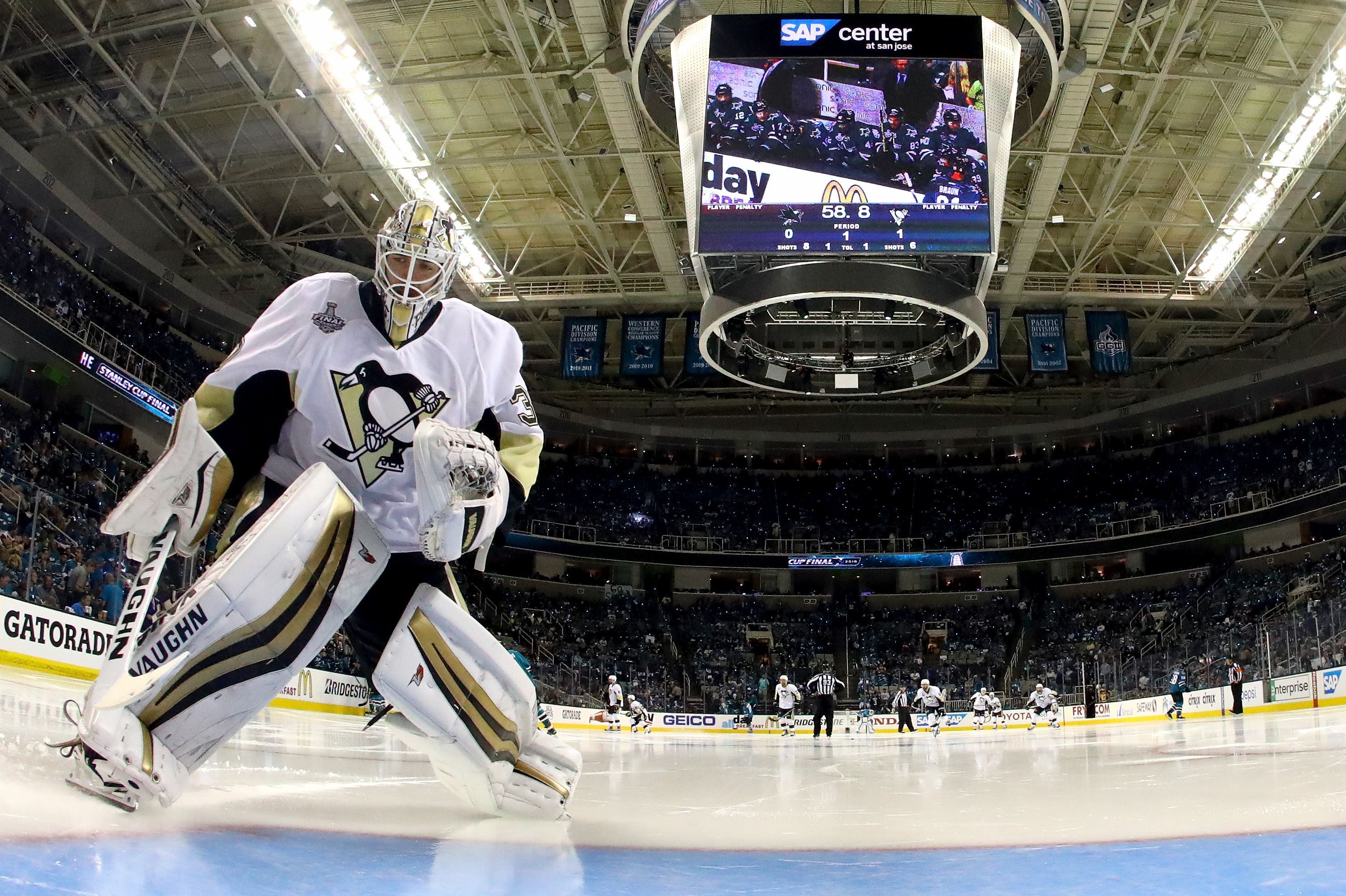 Murray The Perfect Mix As An NHL Goalie