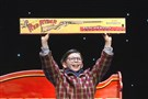 "The search is on for Ralphie (here played in Pittsburgh by Dylan Boyd in 2016) in ""A Christmas Story:The Musical."""
