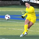 Goalie Kyra Murphy, a Canon-McMillan graduate, is among local players making an impact this season for Duquesne.