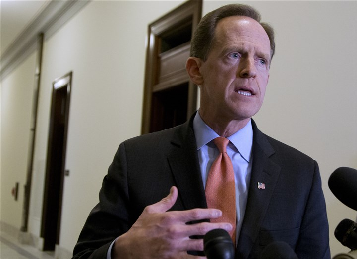 2016 Election Senate-3 Sen. Pat Toomey, R-Pa.