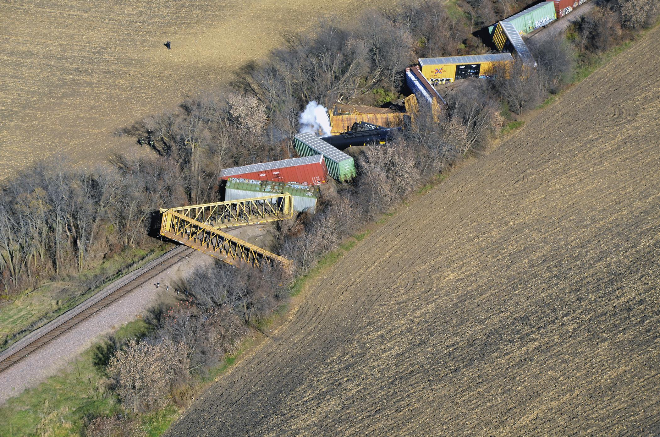 Train Derailment, Spill Prompts Evacuations in Minnesota