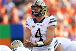 Pitt's Nathan Peterman has been drafted by Buffalo.