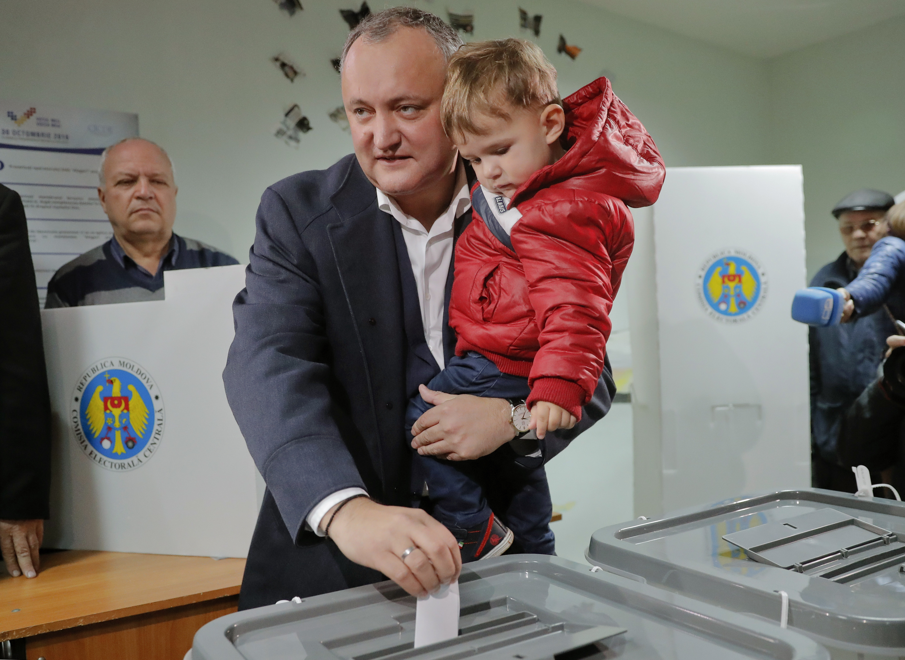 Moldovan presidential election