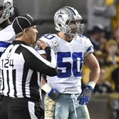 Cowboys linebacker Sean Lee, an Upper St. Clair and Penn State graduate, plays against the Steelers this month at Heinz Field.