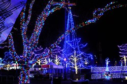 Light Up Night at Kennywood Park.