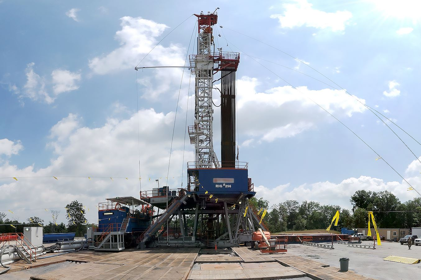 WEB cracker plant 12 Some landowners who are receiving next to nothing, or even negative, royalty payments are asking drillers to turn off their wells.