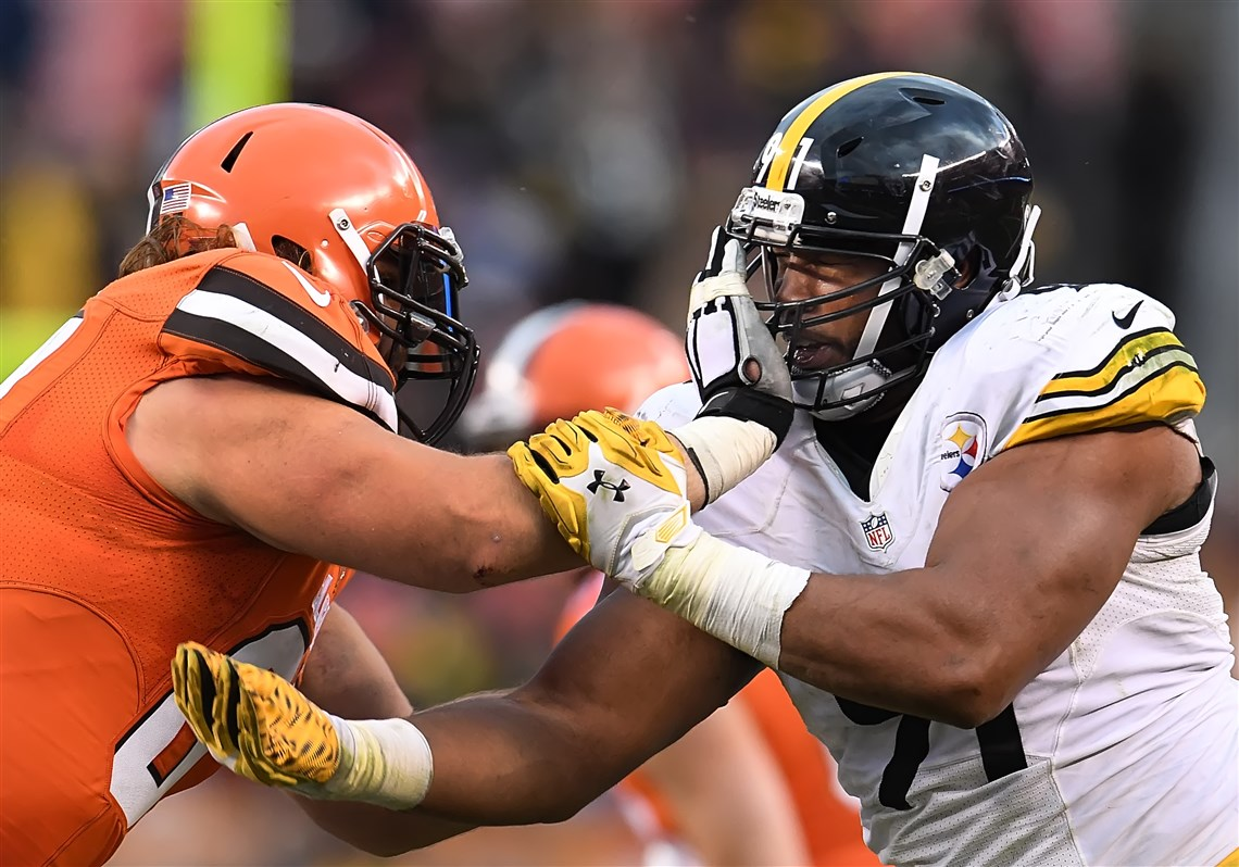 Stephon Tuitt out Vince Williams in for Bengals game