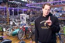 Craig Marrow explains how his bike collection of over 3200 bikes started from a single bike in his small garage in an alleyway.
