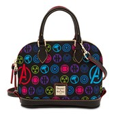 Marvel and Disney have teamed with an American class for handbags such as the Avengers Nylon Bitsy Bag by Dooney & Bourke ($198). The icon pattern on the fully lined bag includes Captain America, Thor, Hulk, Hawkeye, Black Widow, and S.H.I.E.L.D. on a nylon shell with leather trim.
