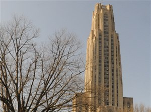 The Cathedral of Learning at the University of Pittsburgh.