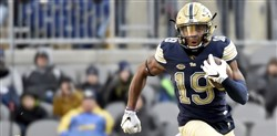 Pitt receiver Dontez Ford and the Panthers are headed to the Pinstripe Bowl Dec. 28 at Yankee Stadium to face Northwestern.