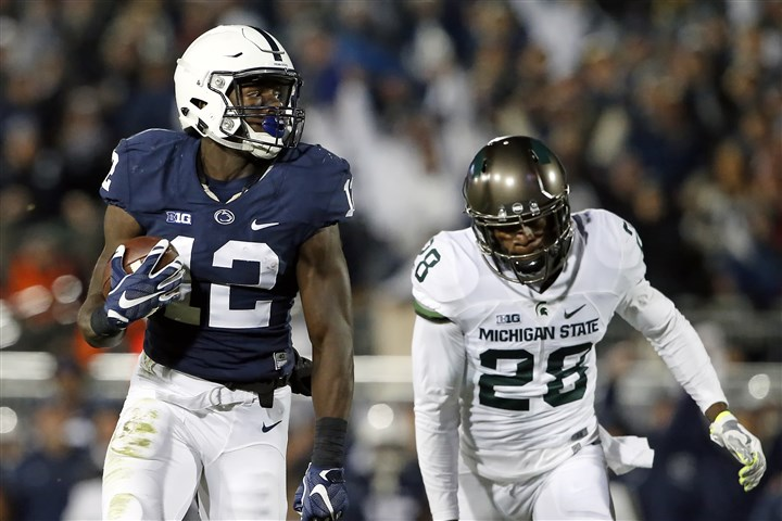 Michigan St Penn St football Former Penn State receiver Chris Godwin could be a good option for Penn State on Day 2 of the NFL Draft.