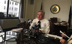"""We believe when you arrest someone and charge them with a crime they did not commit, that that's a tragedy,"" Allegheny County District Attorney Stephen A. Zappala Jr. said."
