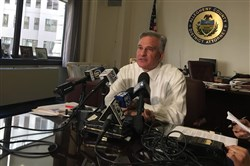 "Allegheny County District Attorney Stephen A. Zappala Jr.  discusses the Thanksgiving Day crash and police chase in which three people were killed. ""We're going to hold the defendant responsible for the deaths of three people,"" Mr. Zappala said."