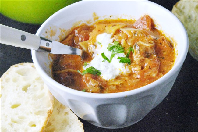 You can whip up Lasagna Soup in the fraction of the time it takes to make lasagna.