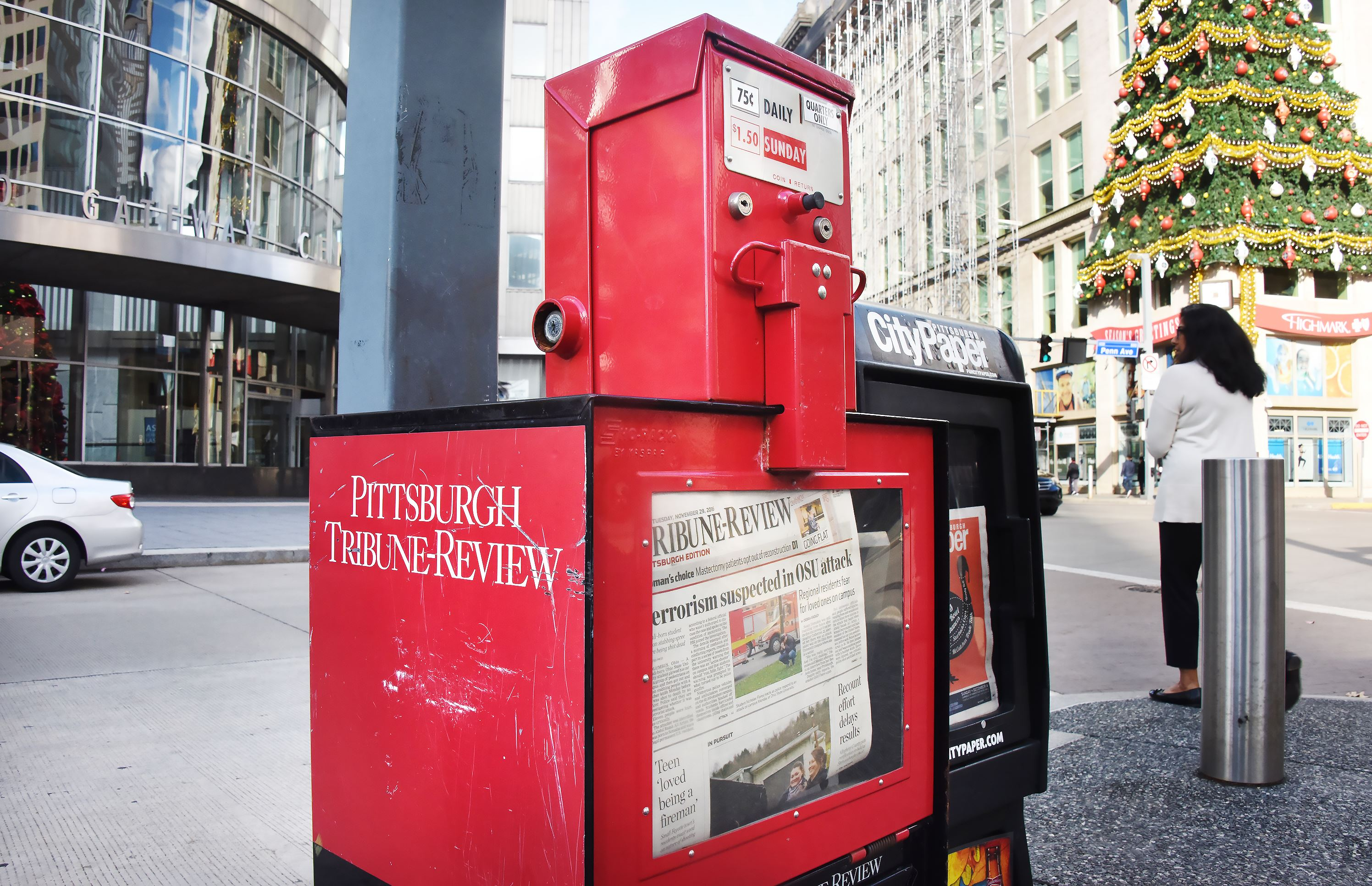 Presses stop for Pittsburgh Tribune-Review print edition ...