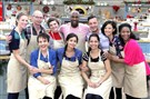 "In a two-hour season premiere Thursday, ""The Great American Baking Show"" (formerly ""The Great Holiday Baking Show"") returned with slices of cake and plates of cookies. The contestants: Amanda Faber, left, Michael Wolfe, Nancy Judd, Ashlyn Morgan, Jennie Dembowski, Courtney Carey, Jeremiah Bills, Prachi Chaudhari, Stephanie Chen and Antoinette Love."