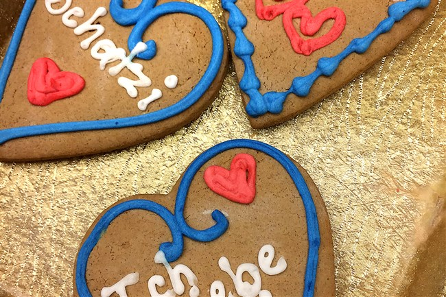 Gingerbread cookies from Kretchmar Bakery in Beaver.
