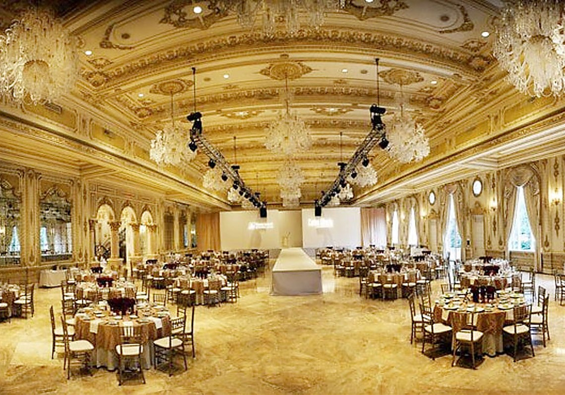 Charmant The Lavish Mar A Lago Ballroom That Donald J. Trump Built At A