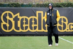 Steelers defensive coordinator Keith Butler watches practice on the South Side last season. He says the 2017 version of the Steelers defense will be different and better.