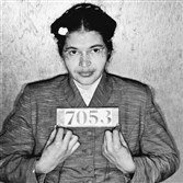 Rosa Parks,  from her 1955 arrest