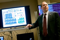 FBI Supervisory Special Agent J. Keith Mularski explains how Avalanche, a complex computer server infrastructure, was used by criminal enterprises around the world to steal from private computer users. One of the victims was the Allegheny County District Attorney's Office.