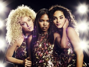 "Jude Demorest, left, Ryan Destiny and Brittany O'Grady pursue musical stardom in ""Star"" on Fox."