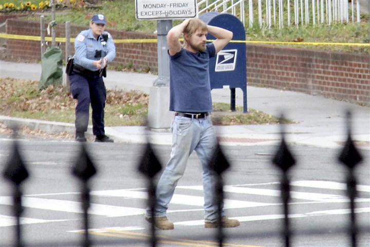 "Gunman Pizza Shop Edgar Maddison Welch, 28 of Salisbury, N.C., surrenders to police on in Washington, D.C. Mr. Welch, who said he was ""self-investigating"" a conspiracy theory about Hillary Clinton running a child sex ring out of a pizza place, fired an assault rifle inside the restaurant on Sunday injuring no one, police and news reports said."