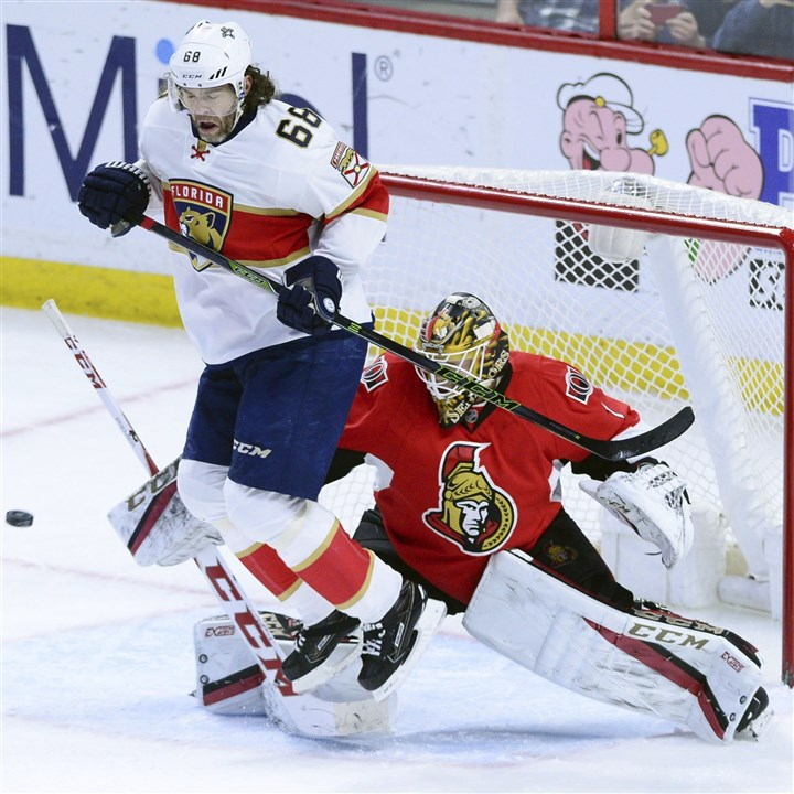 Goalie Condon has fond — but short — memories of his time with …