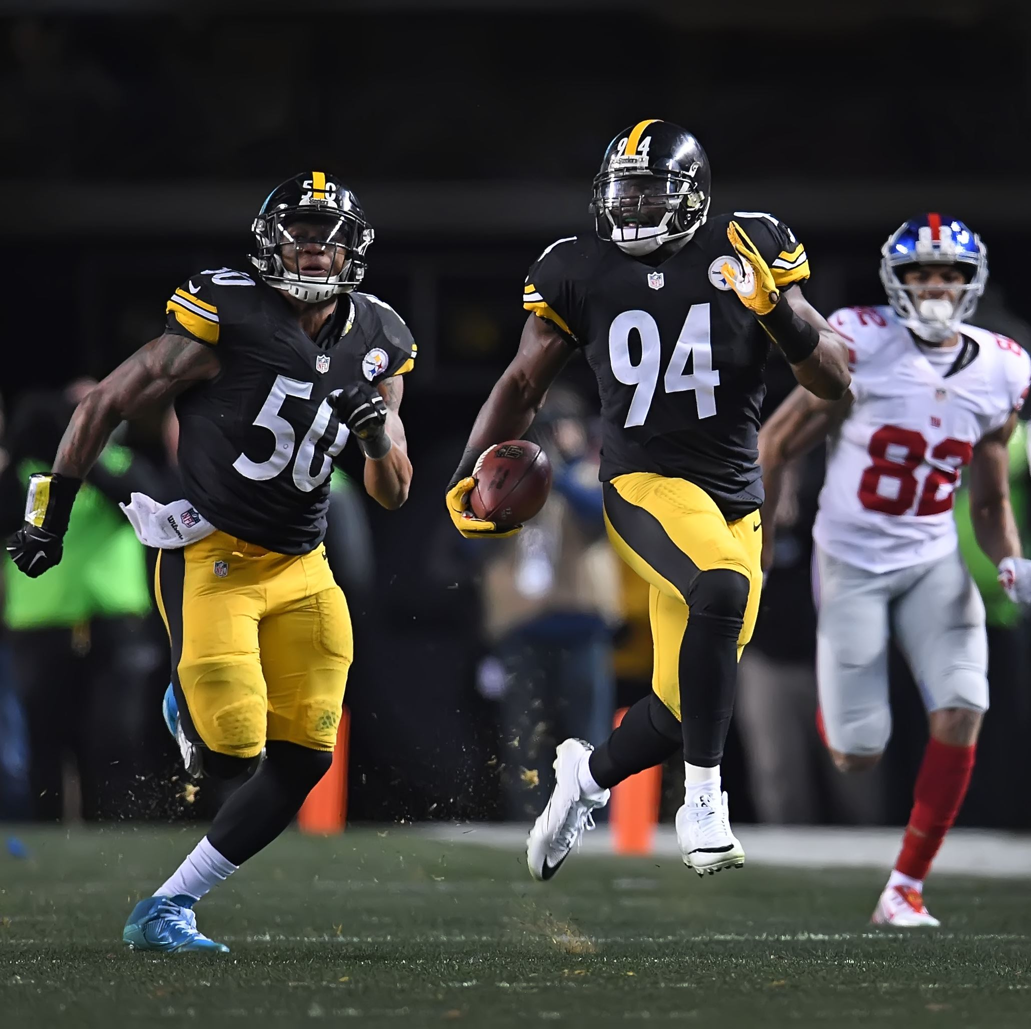 Lawrence Timmons, Steelers 2017 free agents, Ryan Shazier, Steelers vs Giants, Lawrence Timmons interception, Roger Lewis