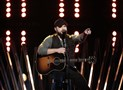 "Josh Gallagher, of Cambria County, performs Monday night on ""The Voice."""