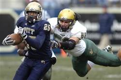 Pitt running back LeSean McCoy rushed for more than 1,300 yards in 2007.