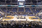 Pitt prepares to tip off at Petersen Events Center in December.