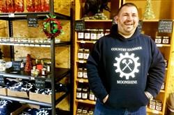 Tim Baureis just opened Country Hammer Moonshine in Jefferson Hills.