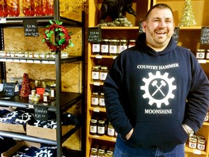 Tim Baureis just opened Country Hammer Moonshine in Jefferson Hills.