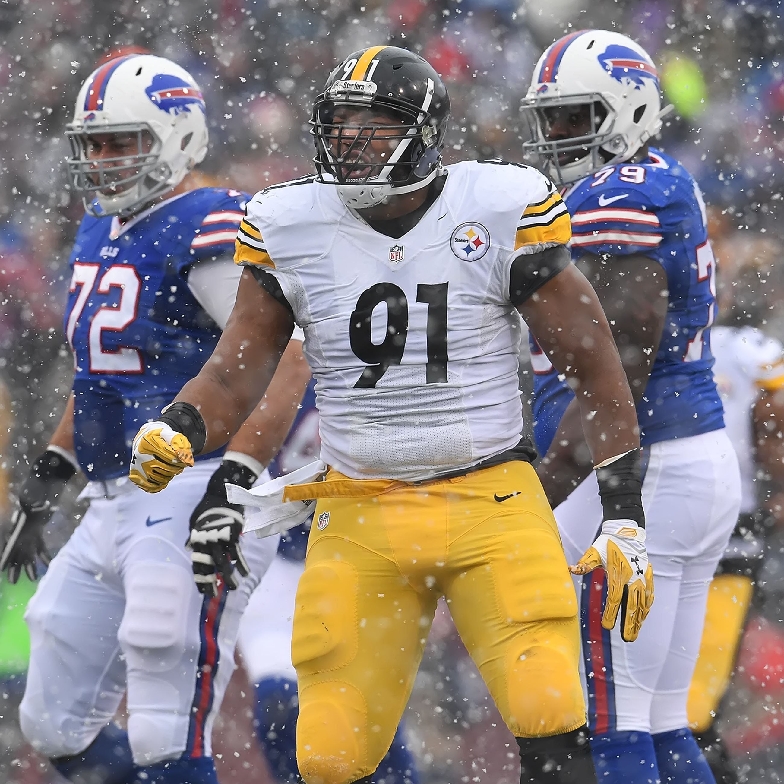 Steelers 2016 defense, stephon tuitt, steelers vs. Bills