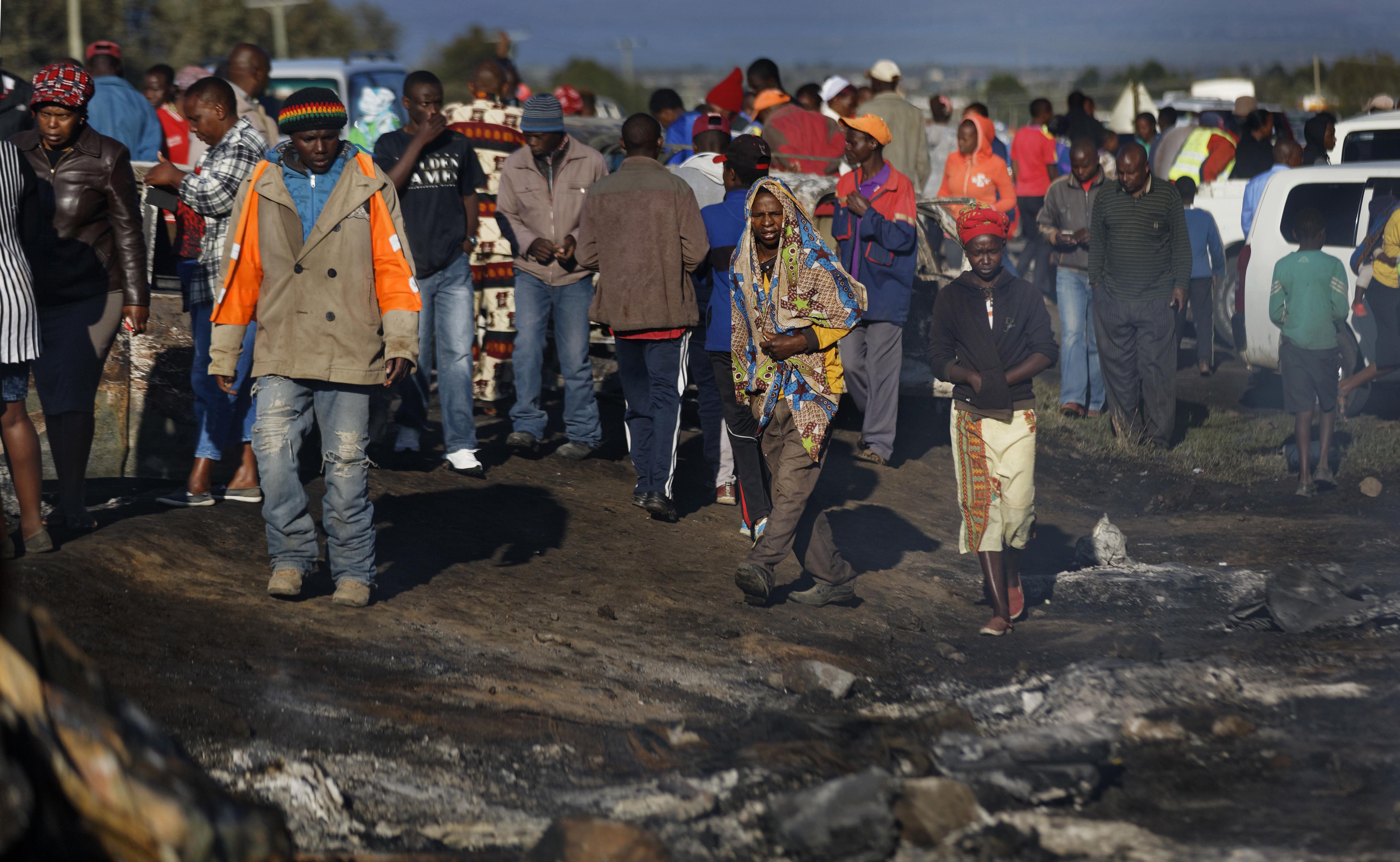 Kenya oil tanker accident leaves dozens dead