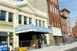The Garden Theater block on the North Side is a possible site for a listening room.